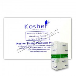 Kosher M-Fold Tissue (150x20 Box)