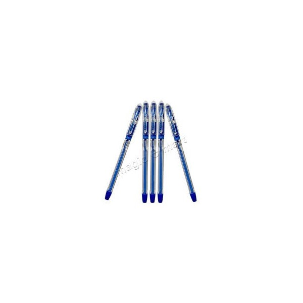 Cello Fine Grip Pen - Blue (Pack of 5)