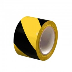 Floor Marking Tape- Zebra (Yellow & Black)