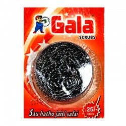 Gala Swash Card (Steel Scrub)