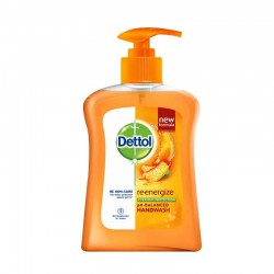 Dettol Hand Wash Pump Re-Energize 225ml