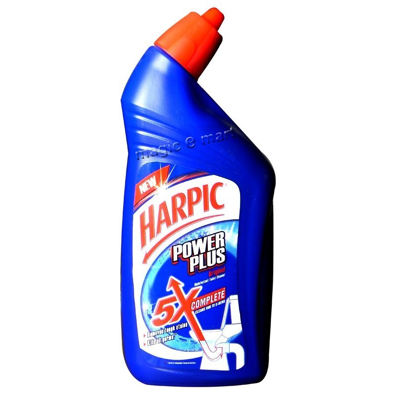 Harpic Bathroom Floor Cleaner : Harpic power plus ml magicemart