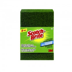 3M Scotch Brite (Pack of 4) 10cm x15cm