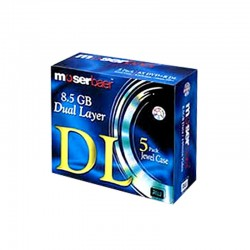 Moserbaer DVD 8.5GB