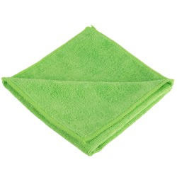 "Unger ME400 Micro Fiber Cloth 16""x16""- Green Color"